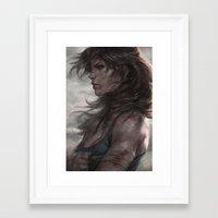 artgerm Framed Art Prints featuring Survivor by Artgerm™