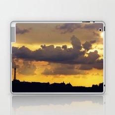 Sunset over Paris Laptop & iPad Skin
