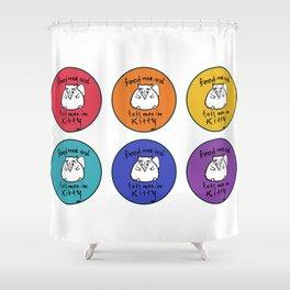 Pretty Kitty Shower Curtain