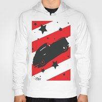 ford Hoodies featuring Hot Ford by raven's_revelation_city_graphics