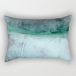Copper statue detail Rectangular Pillow