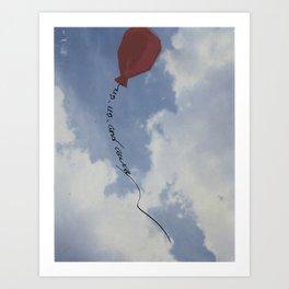 Up, Up, and Away Art Print