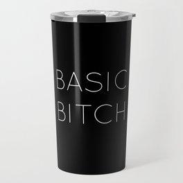 Basic Bitch Inverted Print Travel Mug