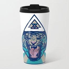 Tiger Metal Travel Mug
