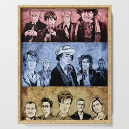 Doctor Who - Three Colours Who Serving Tray