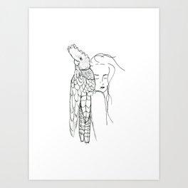 Her Mate Art Print