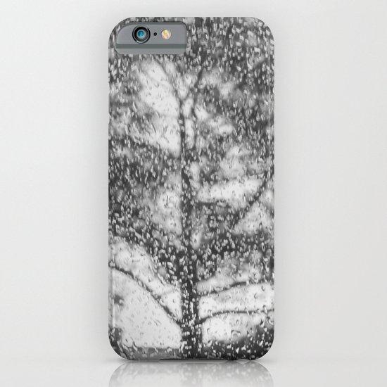 tree in the rain iPhone & iPod Case