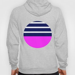 Summer Patio Perfect, Pink, White, Navy Hoody