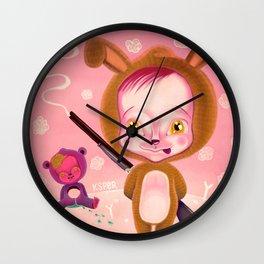 MACABRE GAMES Wall Clock