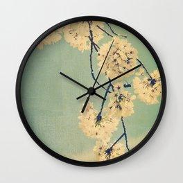 Cherry Bee  Wall Clock