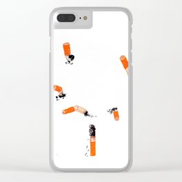 I will kill you Clear iPhone Case