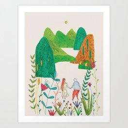 A dream aboutyou Art Print