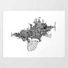 Progship Art Print