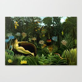 Henri Rousseau The Dream Leinwanddruck