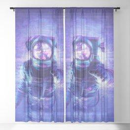 Transmission Error Sheer Curtain