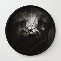 mouse Wall Clocks featuring Mouse by zumzzet