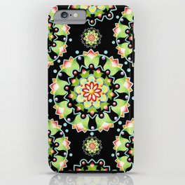 Firework Mandala iPhone Case