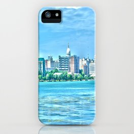 Madison Skyline iPhone Case