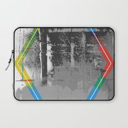 Color Chrome - B/W graphic hex Laptop Sleeve