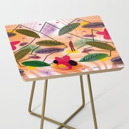Astrology Map Side Table