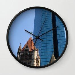 Forward and Back, Copley Square Wall Clock
