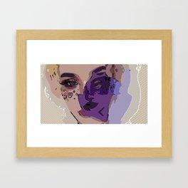 Candy Girl Framed Art Print