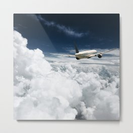 traveling on the clouds Metal Print