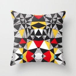Colly no.1 Throw Pillow
