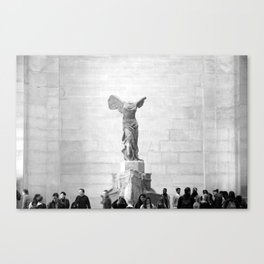 """Nike of Samothrace"" Canvas Print"