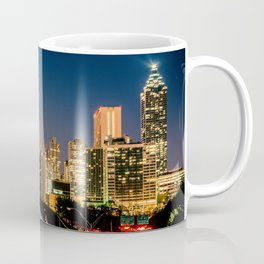 Moonset over Atlanta Coffee Mug