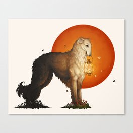 The Lantern Bearer Canvas Print