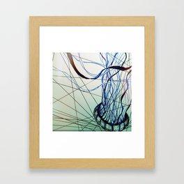 Geometric Jelly Framed Art Print