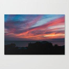 Zamora Sunset #1 Canvas Print
