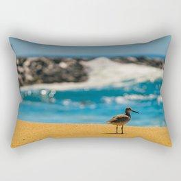Wedge Sandpiper Rectangular Pillow