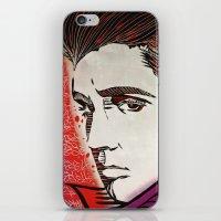 elvis presley iPhone & iPod Skins featuring Elvis Presley by Art By Ariel Cruz