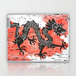Dancing Chinese dragon Laptop & iPad Skin