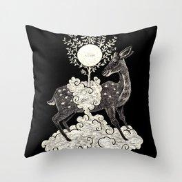 Kasuga Taisha Deer Spirit Throw Pillow