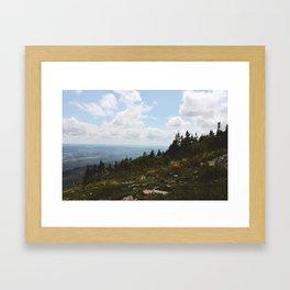 Mount Greylock I Framed Art Print
