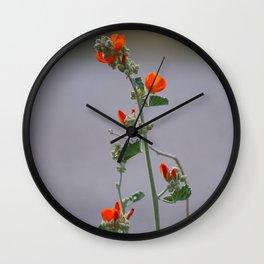 Desert Wildflower - 3 Wall Clock