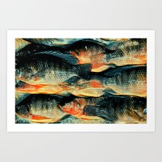 The Fish Scream Art Print