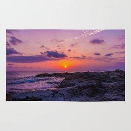 BALEARIC SUNSET · MALLORCA · SPAIN Rug