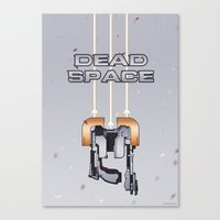 dead space Canvas Prints featuring Dead Space by Spiritius