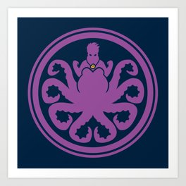 Hail Ursula Art Print