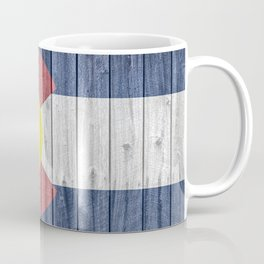 Colorado State Flag Barn Wall Gifts Coffee Mug