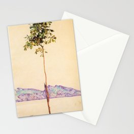 Egon Schiele - Little tree (new editing) Stationery Cards