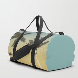 Palms and clear skies Duffle Bag