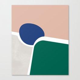 Shape study #2 (Constraints) Canvas Print