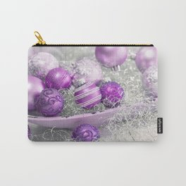Fancy pink christmas Carry-All Pouch