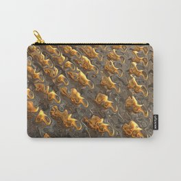 Abstract Melting Metal  Carry-All Pouch
