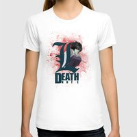 death note T-shirts featuring Death Note by feimyconcepts05